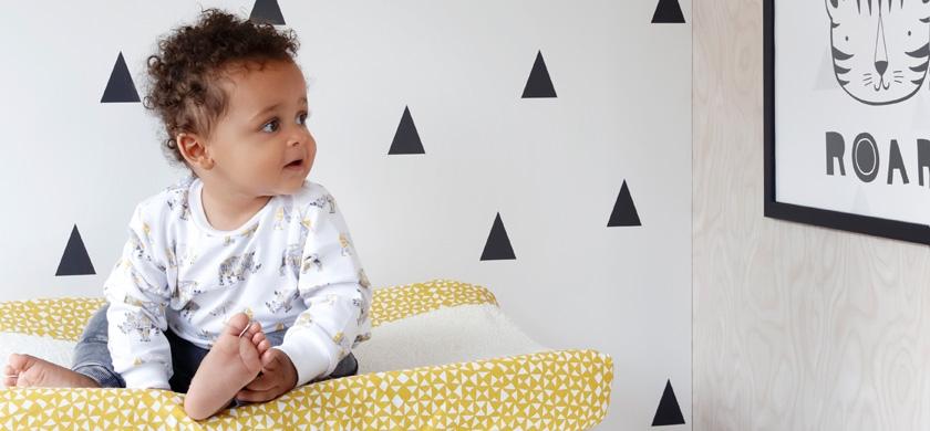 Papier peint chambre bébé