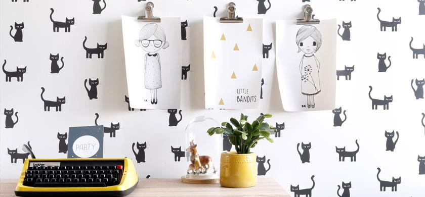 Papier peint chambre d'enfant