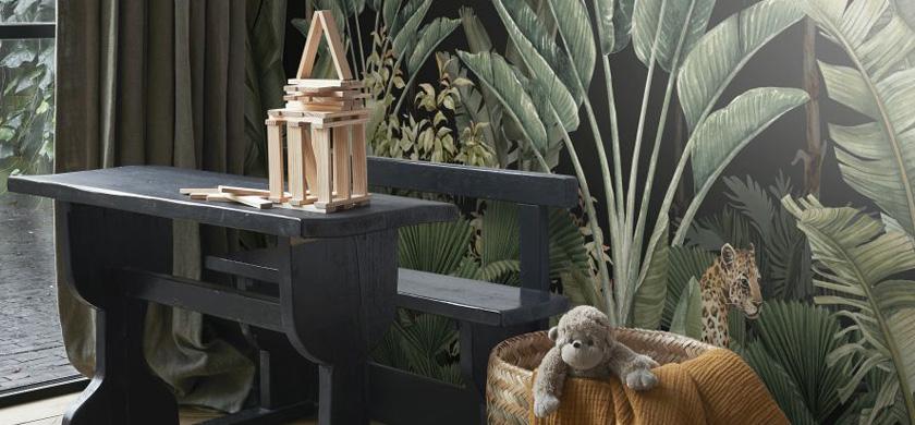 papier peint panoramique jungle