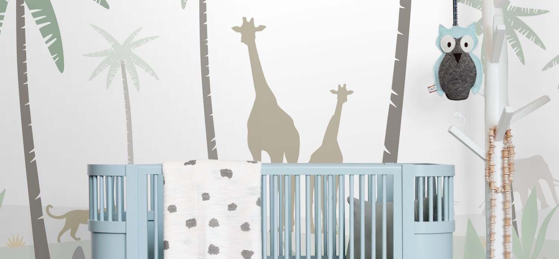 papier peint panoramique pour la chambre d'enfant