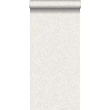 papier peint uni effet béton blanc cassé
