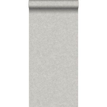 papier peint uni effet béton gris
