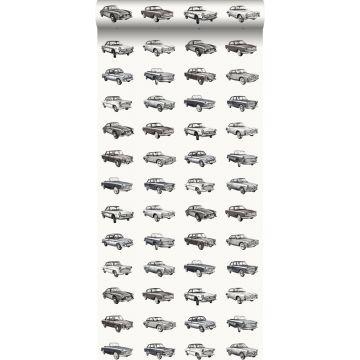 papier peint voitures anciennes vintage noir