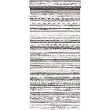 papier peint ruban en dentelle noir et blanc