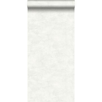 papier peint effet béton gris chaud clair et blanc mat