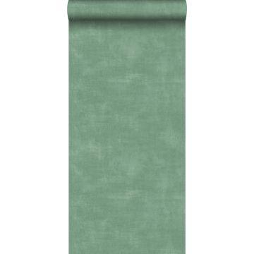 papier peint effet béton vert
