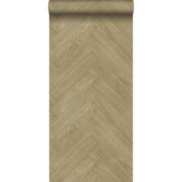 papier peint imitation bois cervine