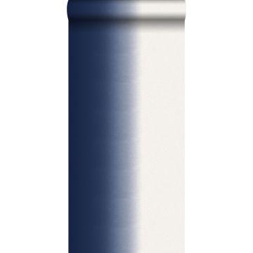 papier peint effet dip-dye bleu foncé