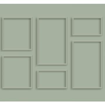 papier peint panoramique paneles de pared vert grisé