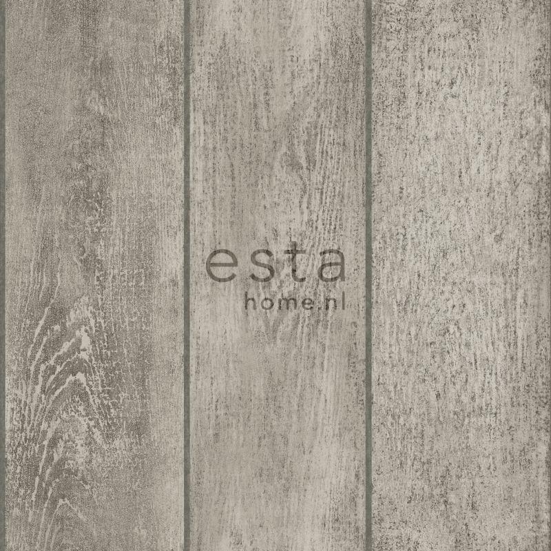 papier peint planches de bois gris