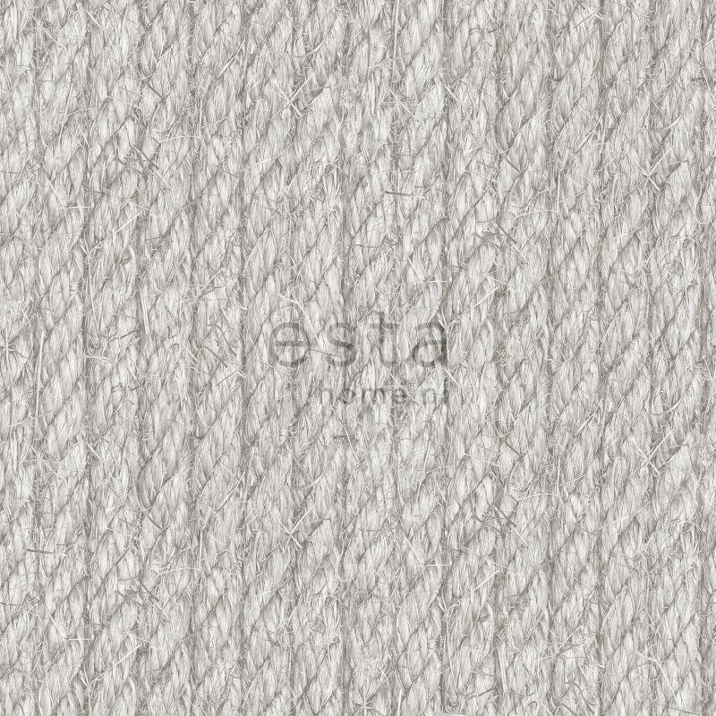papier peint corde gris clair