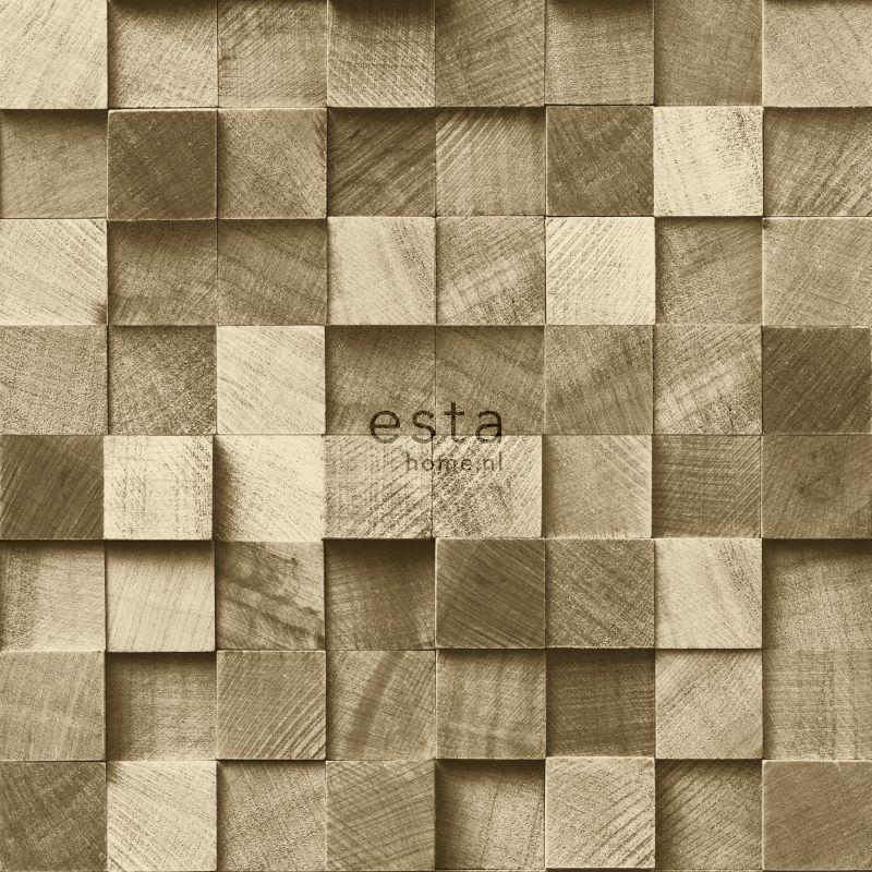 papier peint morceaux de bois cervine
